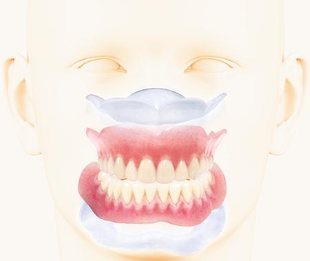 歯ぐきの粘膜のやわらかさに近い独自のシリコーン技術が、歯ぐきにかかる負担を軽減します